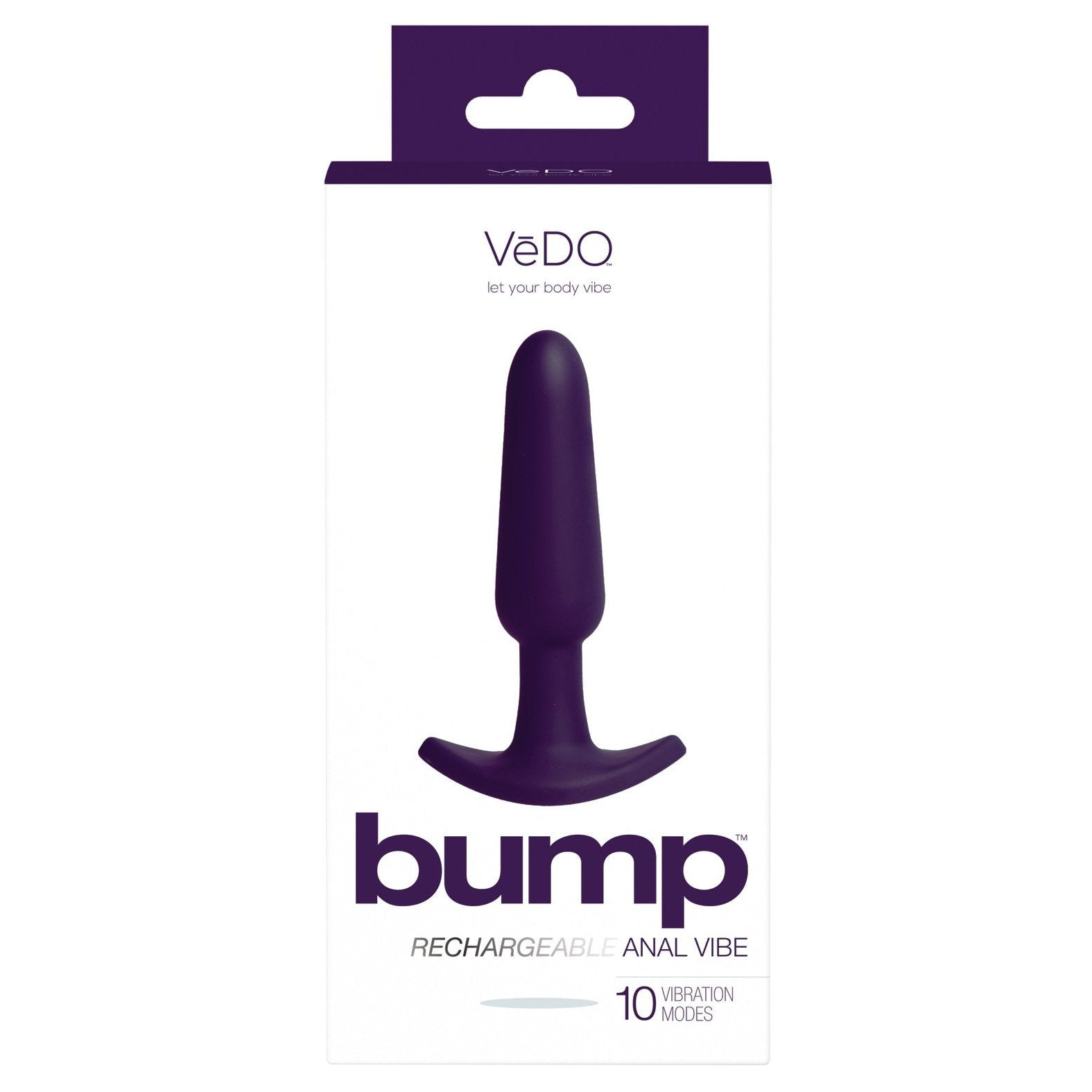 VeDO Bump Rechargeable Anal Vibe - Gay Men's Sex Toys - Adam's Toy Box