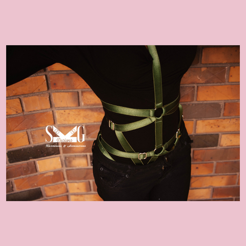 Astrid full body harness - ready to ship xs - m