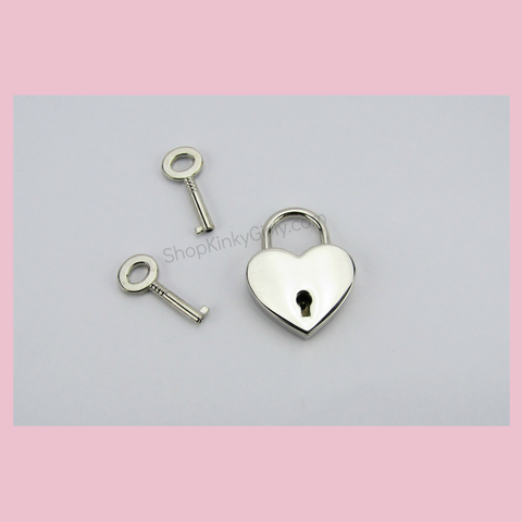 Heart lock with key - KinkyGirly - 1