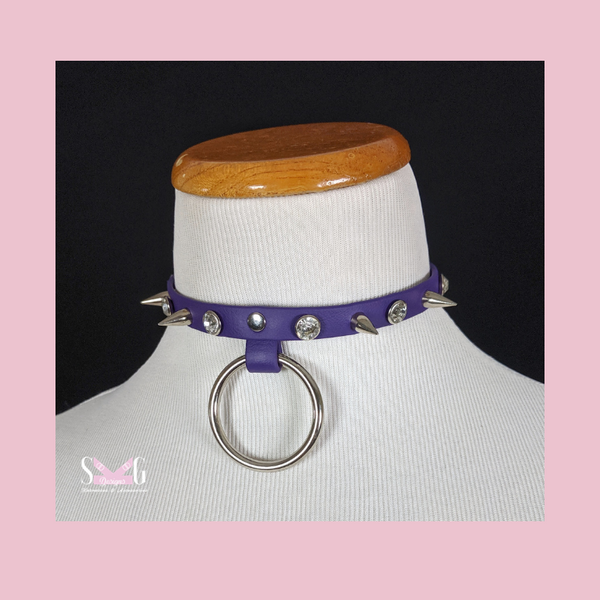 Rose vegan collar - Ready to Ship