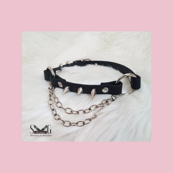 Rayne vegan biothane or leather collar