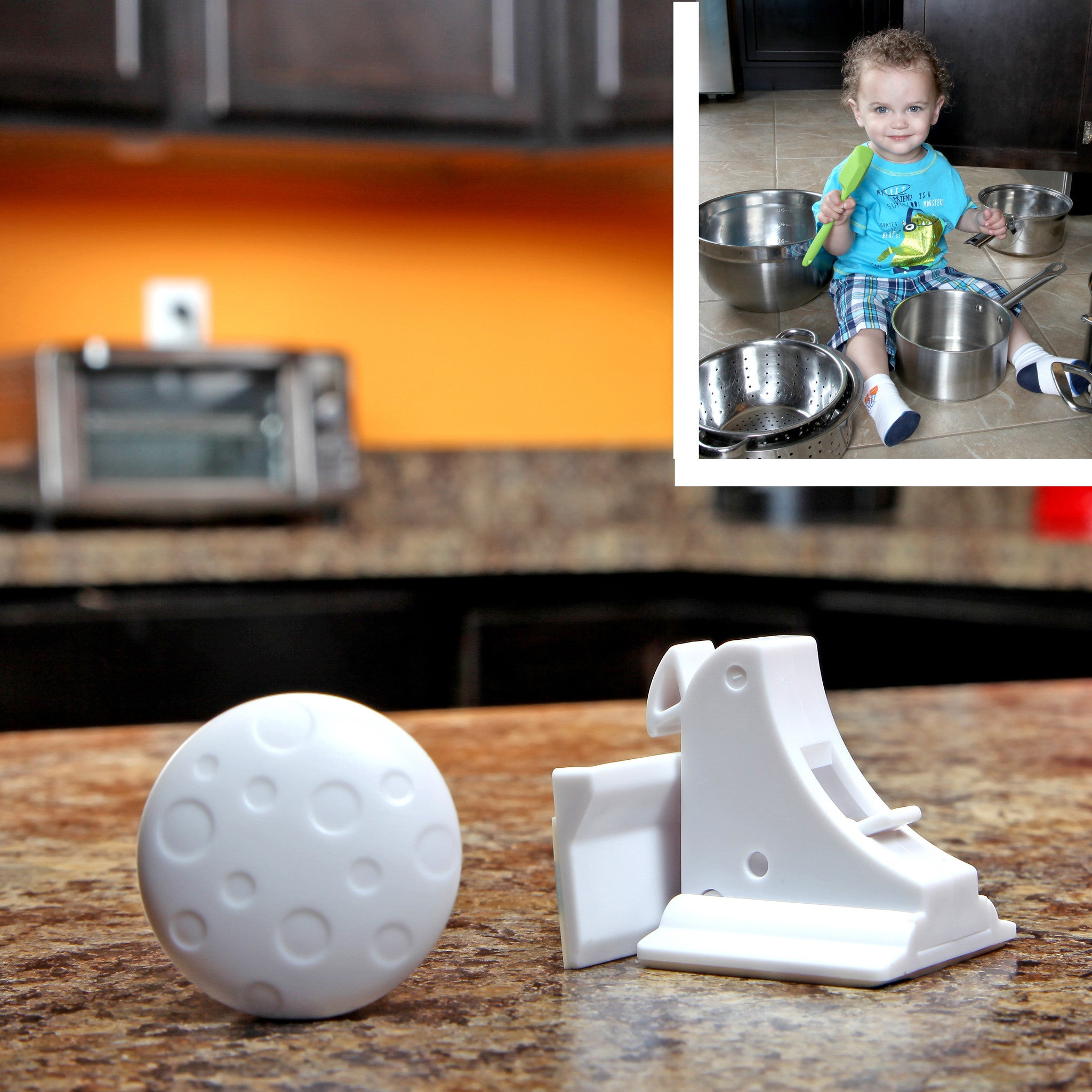 Safety Baby Magnetic Cabinet Locks - No Tools Or Screws Needed ...