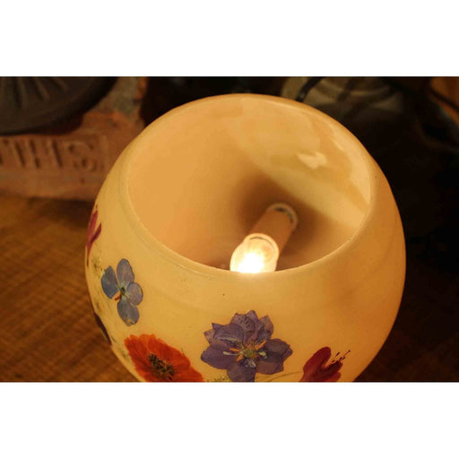 Beeswax Electric Bowl Lamp - Candlestock.com