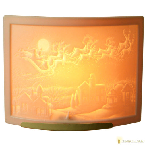 Porcelain Curved Night Light - Candlestock.com