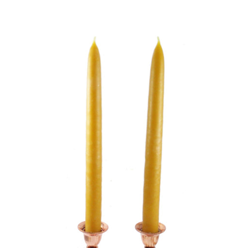 Handmade Beeswax Taper Candles - Russian Orthodox Nuns - Candlestock.com