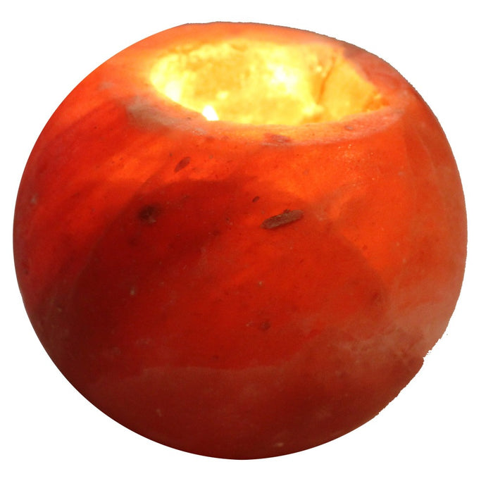 Himalayan Rock Salt Tea Light Candle Holder - Candlestock.com