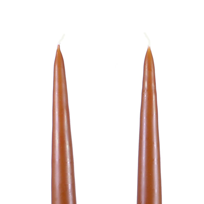 Traditional Danish Style Pointed Taper Candles - 9 Inch