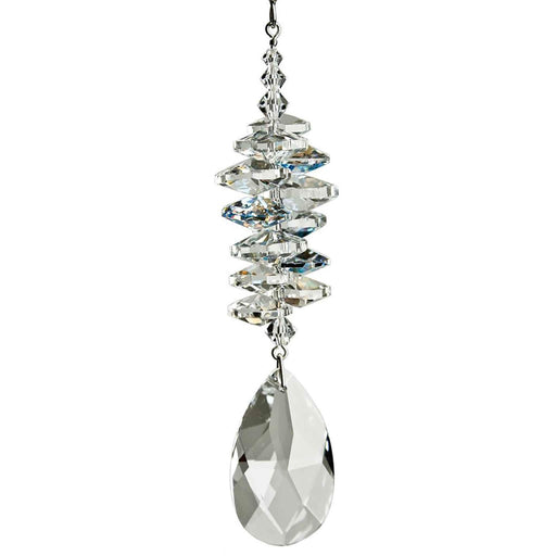 Crystal Ice Cascade Suncatcher - Almond