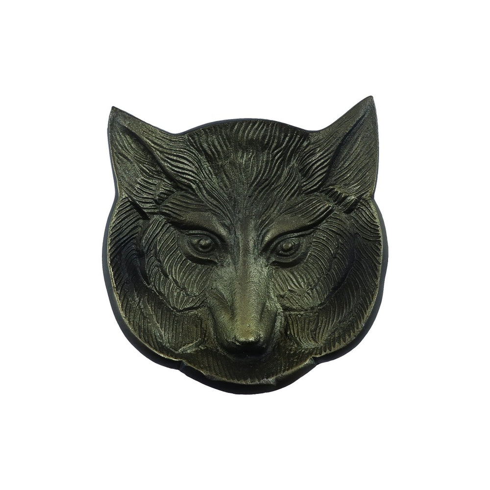 Fox home decorations - Animal lover gifts - Metal Tea Light Candle Tray - Candlestock.com