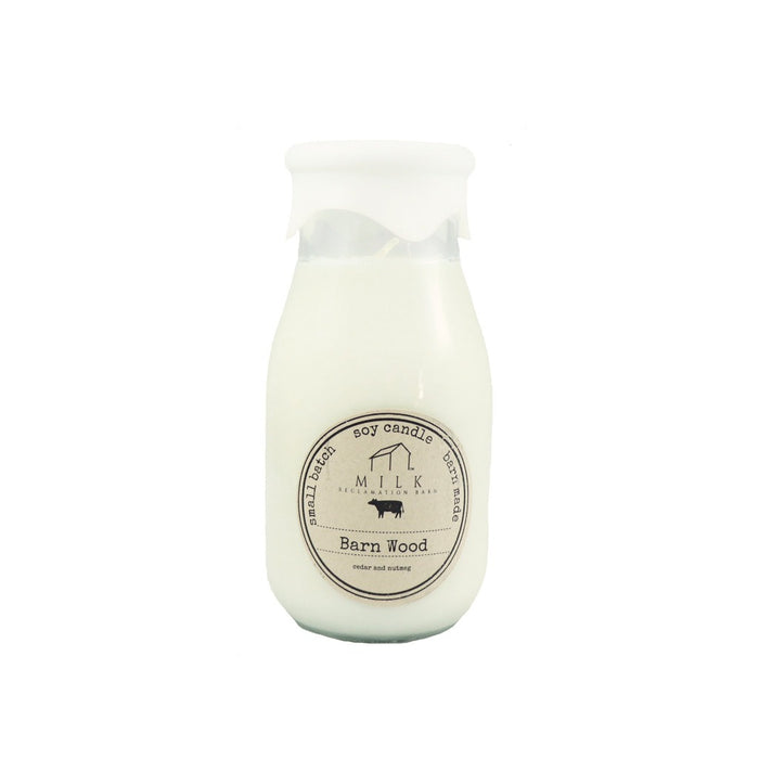 Milk Bottle Soy Wax Scented Jar Candle 12 5oz Candlestock