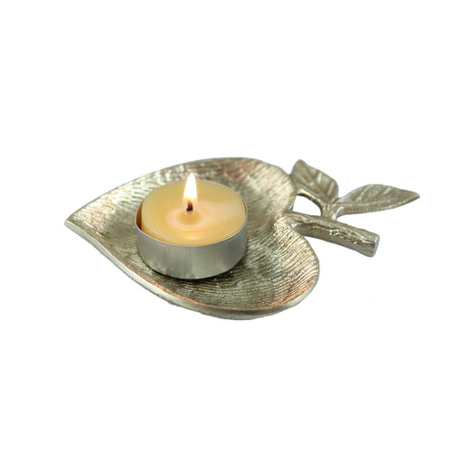 Brass Heart Tea Light Candle Holder - Candlestock.com