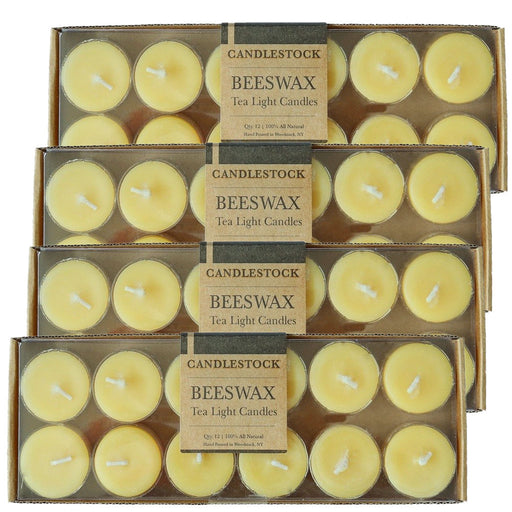Beeswax Tea Light Candles - Bulk
