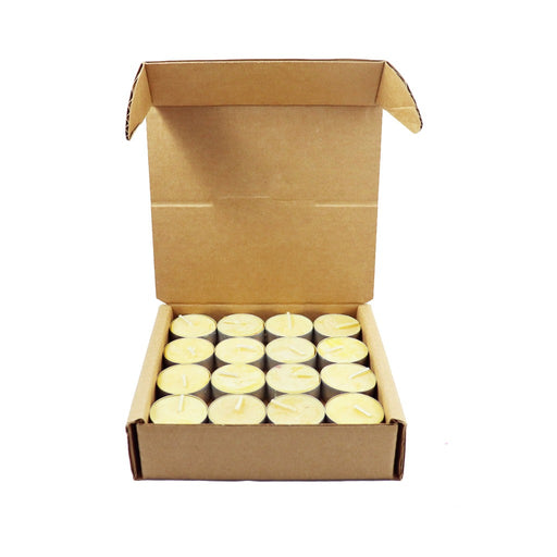 Beeswax Tea Light Candles In Bulk Wholesale - Candlestock.com