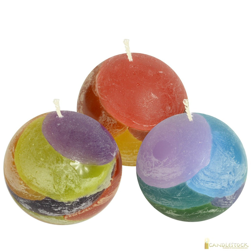 Layered Ball Candle  - Candlestock.com