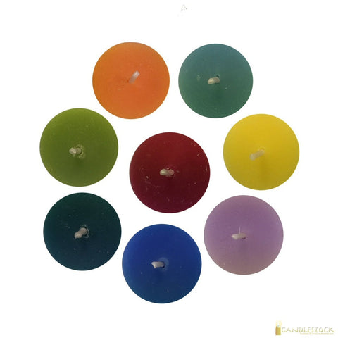 Colorful Tea Light Candles - Candlestock.com