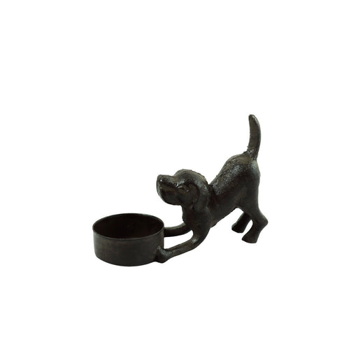 Small dog lover gift ideas. Dog candle holder. - Candlestock.com