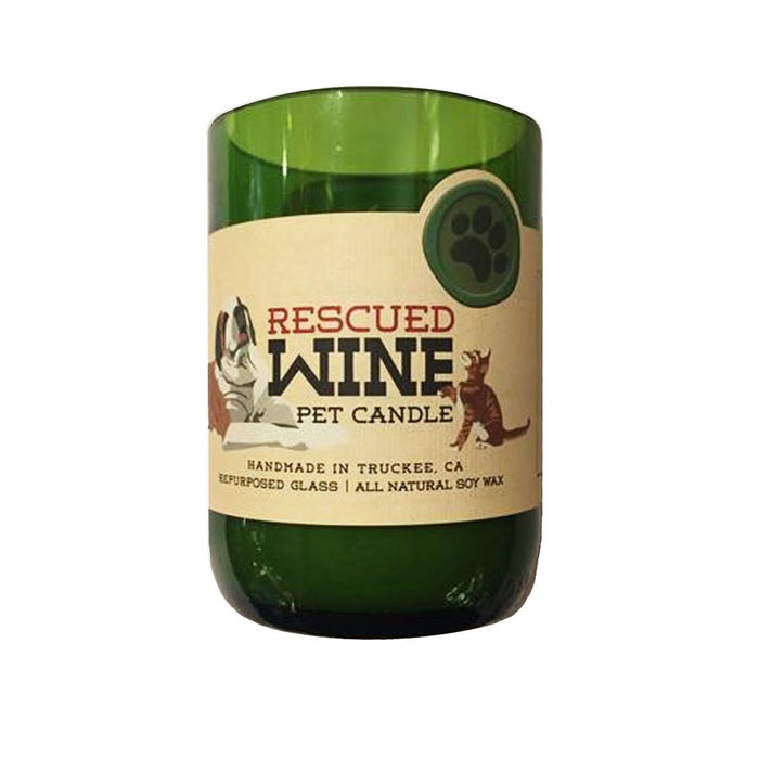 Help animal rescues across the country by purchasing one of these soy wax wine scented jar candles. - Candlestock.com