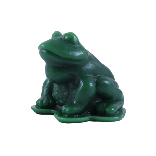 Forest Green Frog Candle - Small Gift Ideas - Candlestock.com