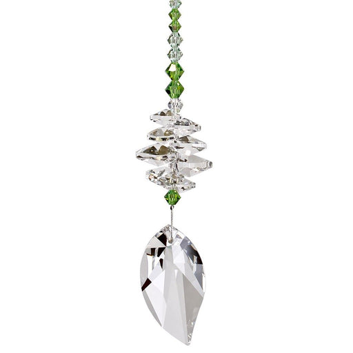 Spring Leaf Crystal Brilliance Cascade Suncatcher