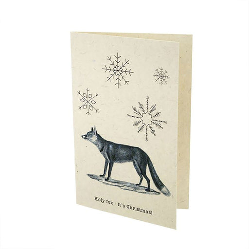 """Holy Fox- it's Christmas"" Gift Card"