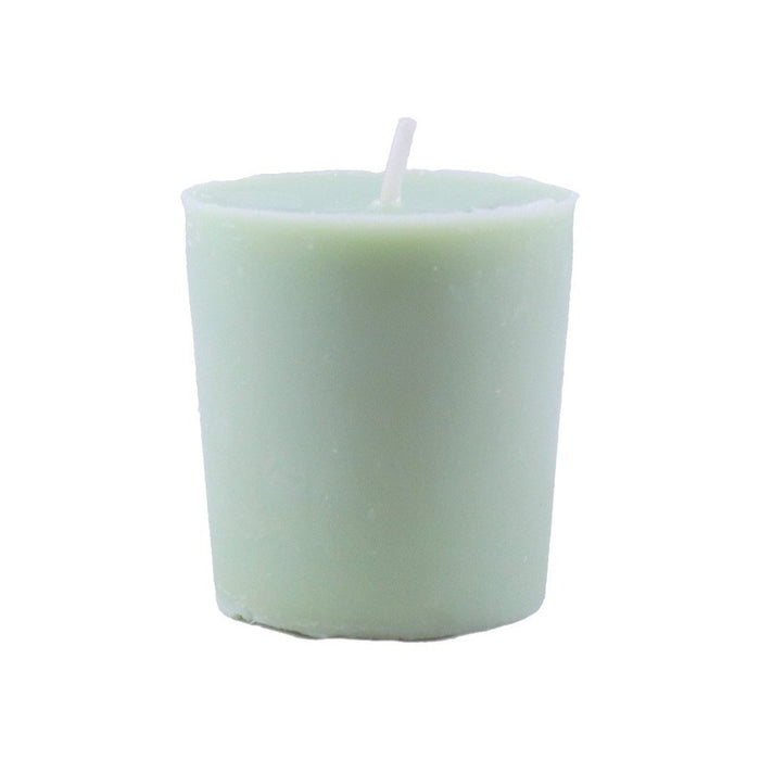 All natural fragrance essential oils with beeswax and soy wax blend scented votive candle - candlestock.com
