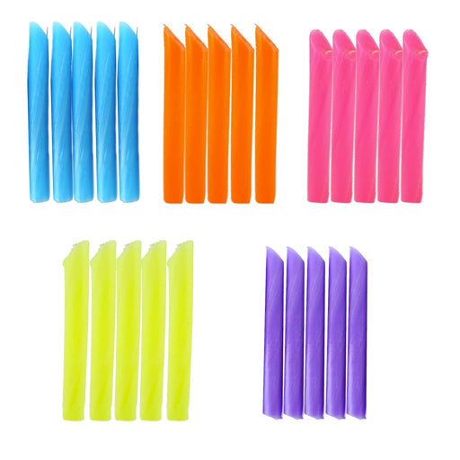 Blue dripping candles, orange dripping candles, pink dripping candles, yellow drip candles, violet drip candles. - Candlestock.com