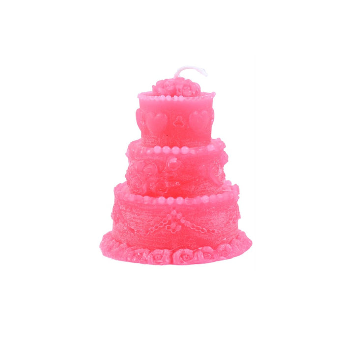 Pink Wedding Cake Candle - Wedding Favors - Candlestock.com