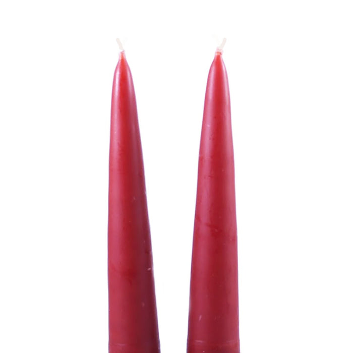 13 Inch - Traditional Danish Style Pointed Taper Candles