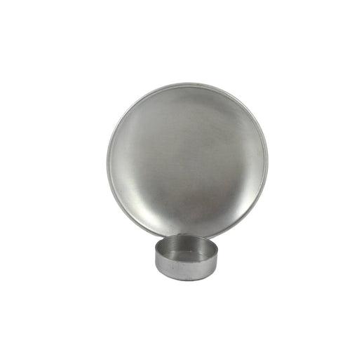 Round Metal Simplistic Tea Light Candle Wall Sconce