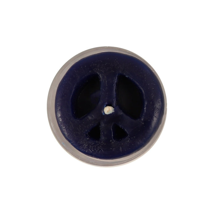 Woodstock New York Gifts - Peace Sign Tea Light Candle - Candlestock.com