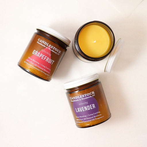 All natural scented jar candles. Candlestock candles. - Candlestock.com