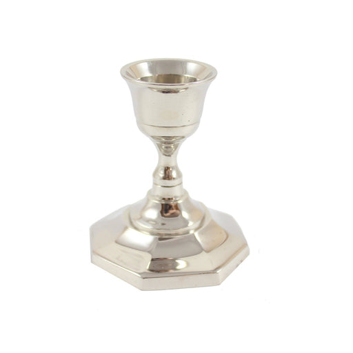 Silver Taper Candle Holder - Candlestock.com