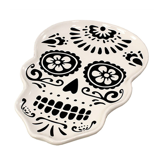 Sugar Skull Candle Tray