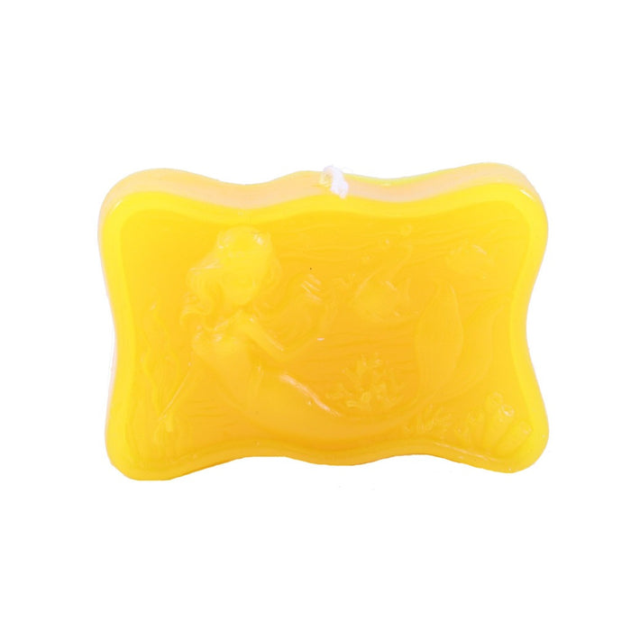 Yellow Mermaid Candle - Candlestock.com