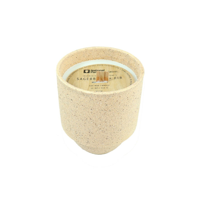 Sagebrush and Fir Soy Wax Scented Jar Candle - Candlestock.com