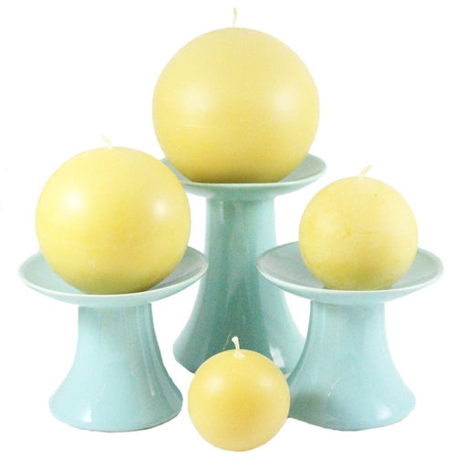 Beeswax Ball Candle sets - Candlestock.com