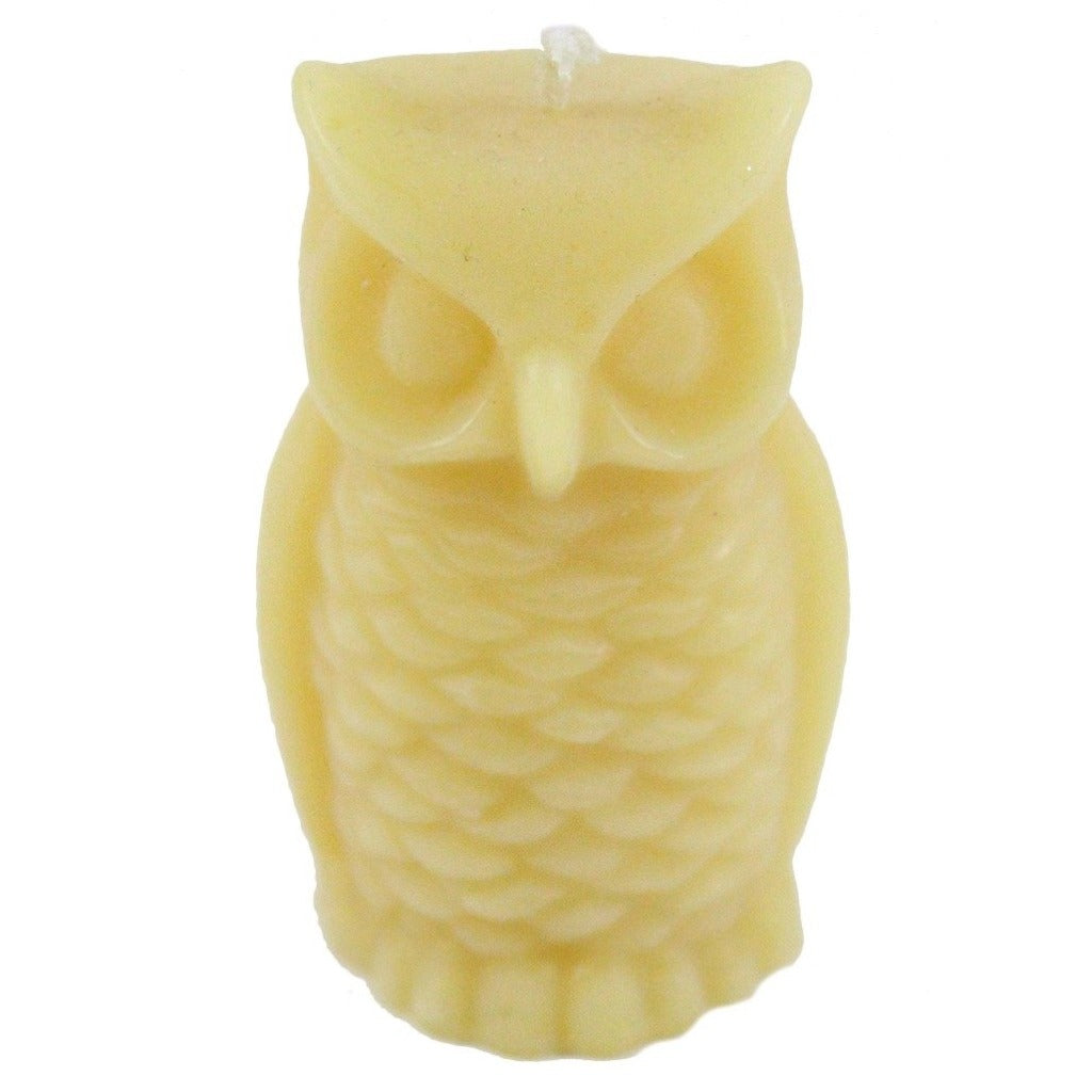 Beeswax Owl Candle - Candlestock.com