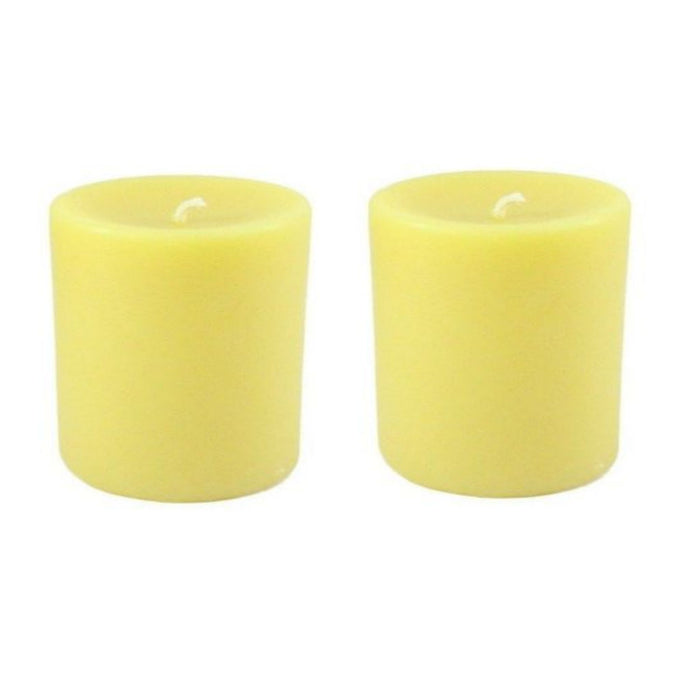 Beeswax Round Pillar Candle Sets