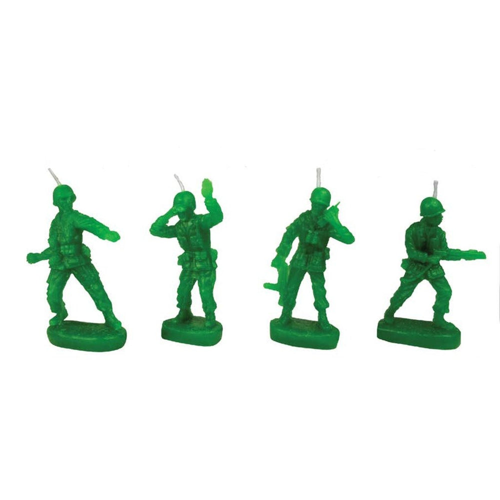 Army Men Birthday Candle