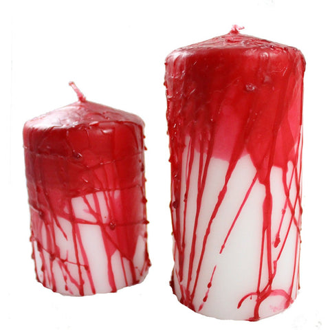 Candlestock Bloody Pillar Candle