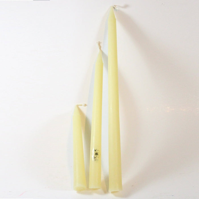 Beeswax Bloom Taper Candles - Candlestock.com