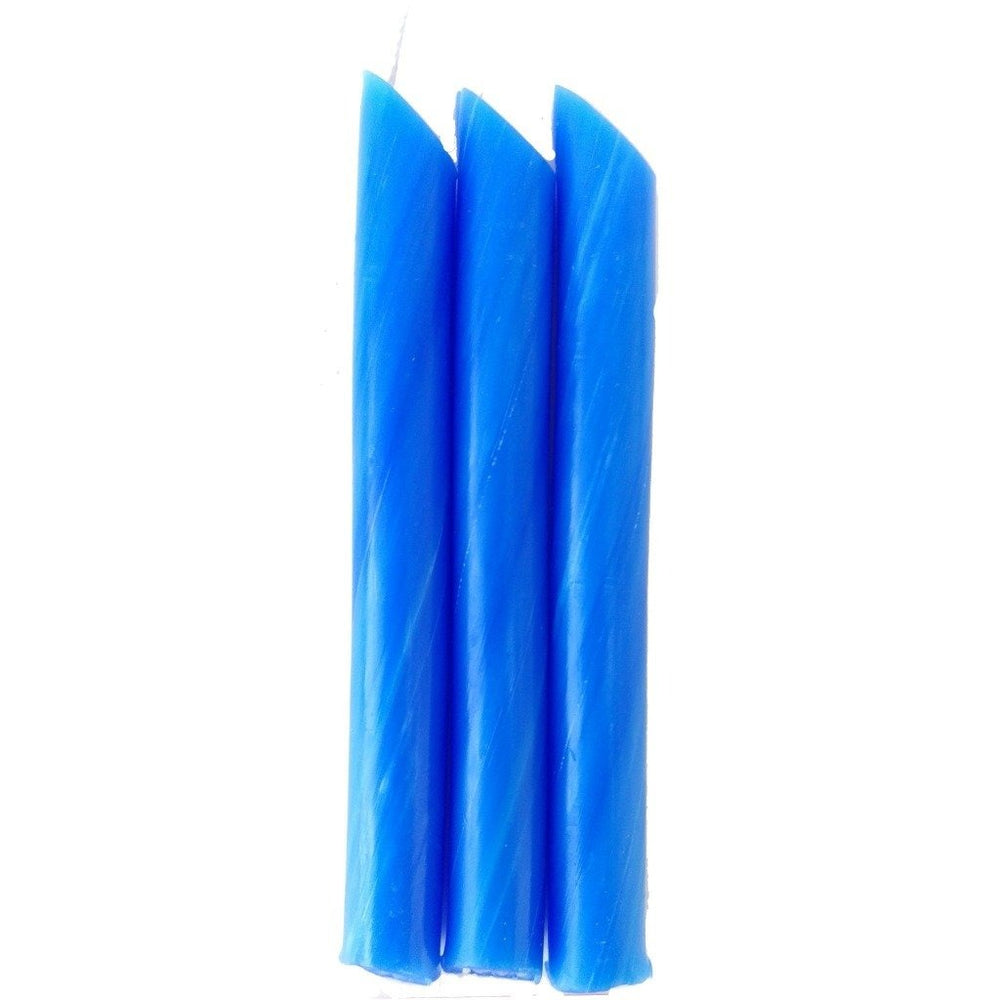Blue Drip Candle 10 Packs - Candlestock.com
