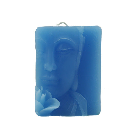 Colorful Buddha Relief Candle