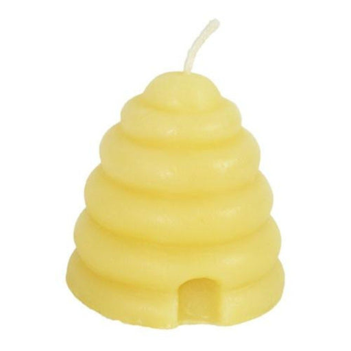 Beeswax Beehive Votive Candle - Candlestock.com