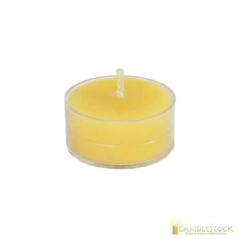 Beeswax Tea Light Candle - Candlestock.com