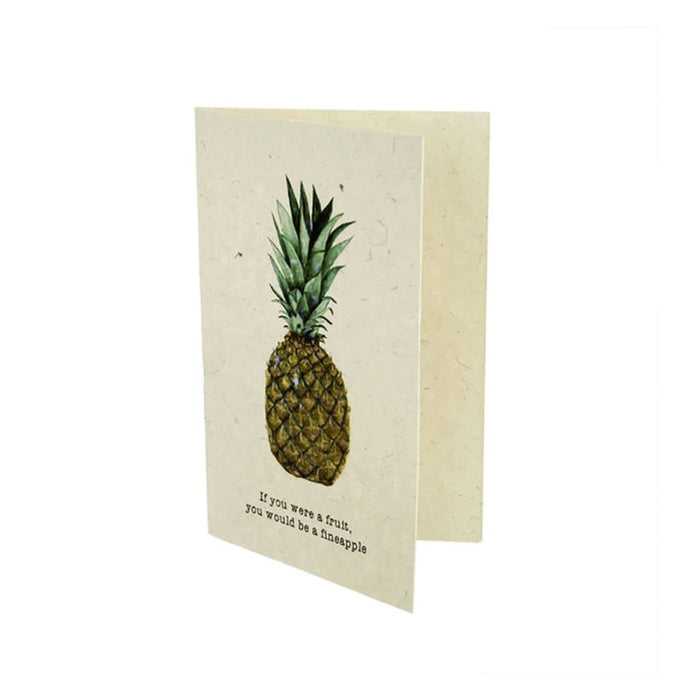"""If you were a fruit, you would be a fineapple"" Gift Card"