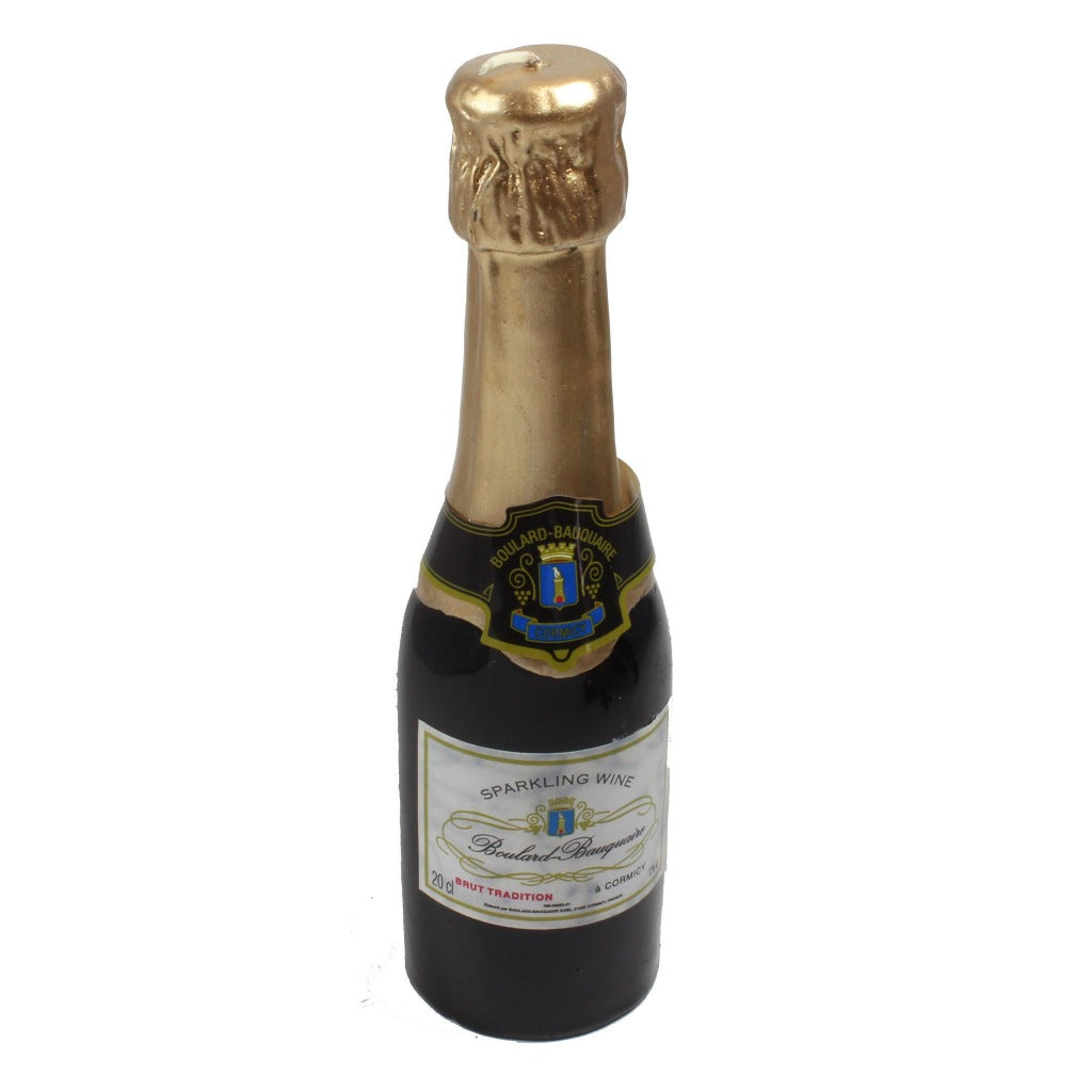 Mini Champagne Bottle Candle - Candlestock.com