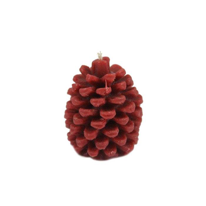 Beeswax Pinecone Candle - Multiple Sizes & Colors
