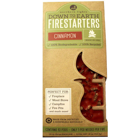 Down To Earth Fire Starter - Candlestock.com
