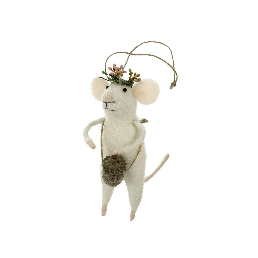 Coachella Mouse Ornament